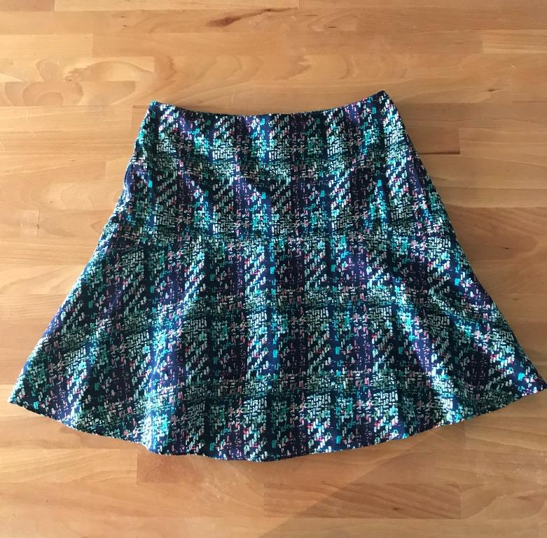 ASOS Style London Patterned Skirt Size Small