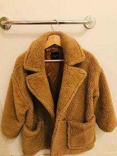 Authentic Weekend MaxMara Teddy Coat Size M