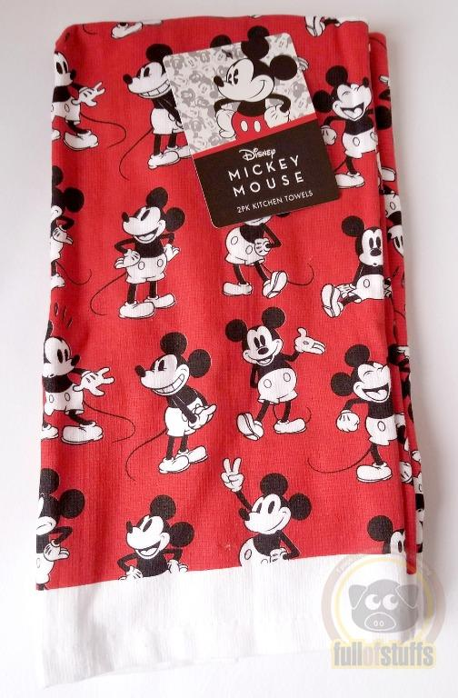 BNwT Disney Mickey Mouse Kitchen Towels 2pcs