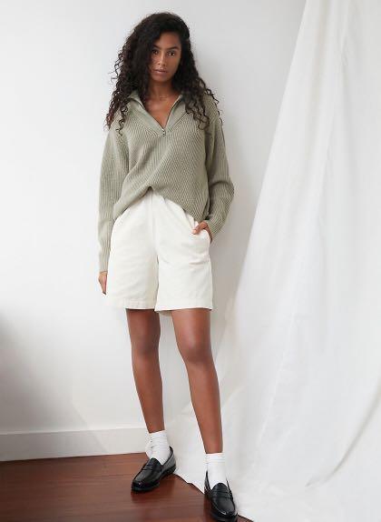 BNWT Wilfred Free Caton sweater XS Dry Basil Green