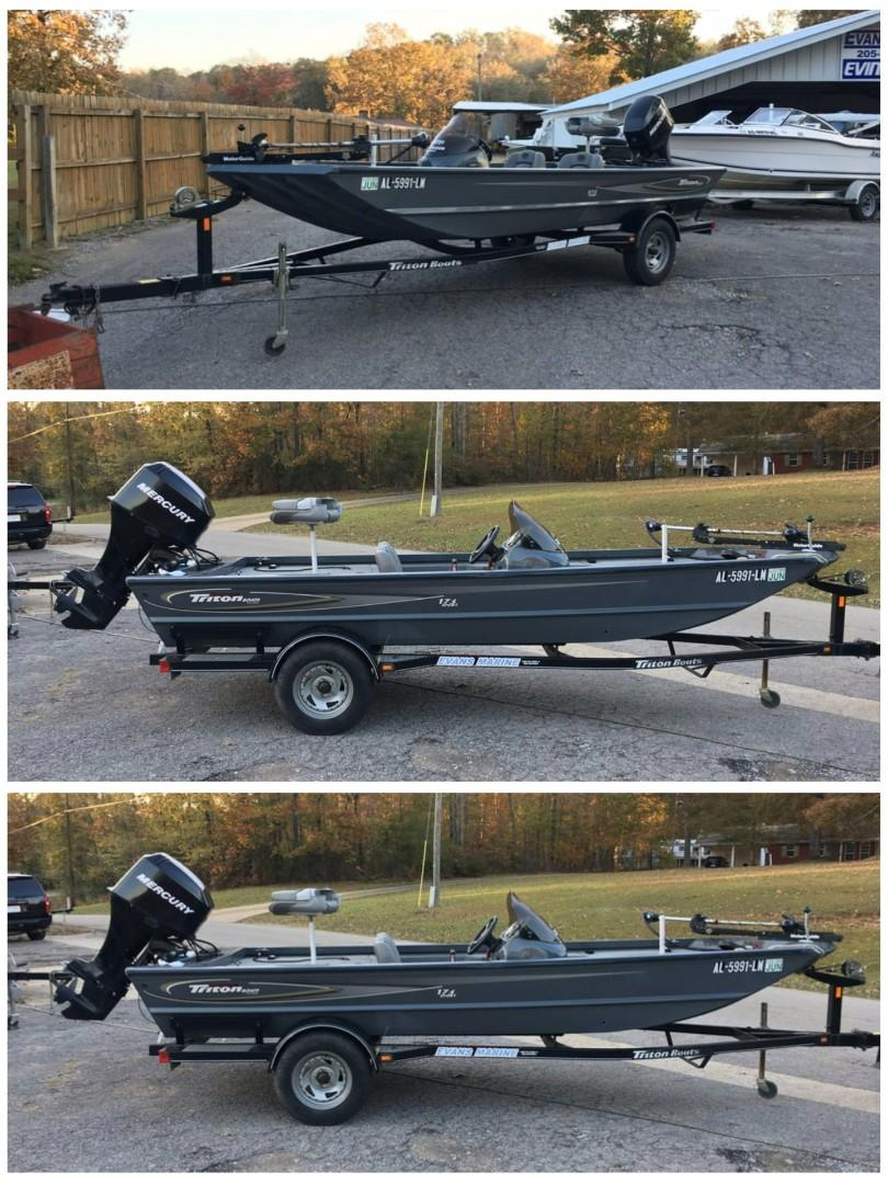 Boat with 45hp motor