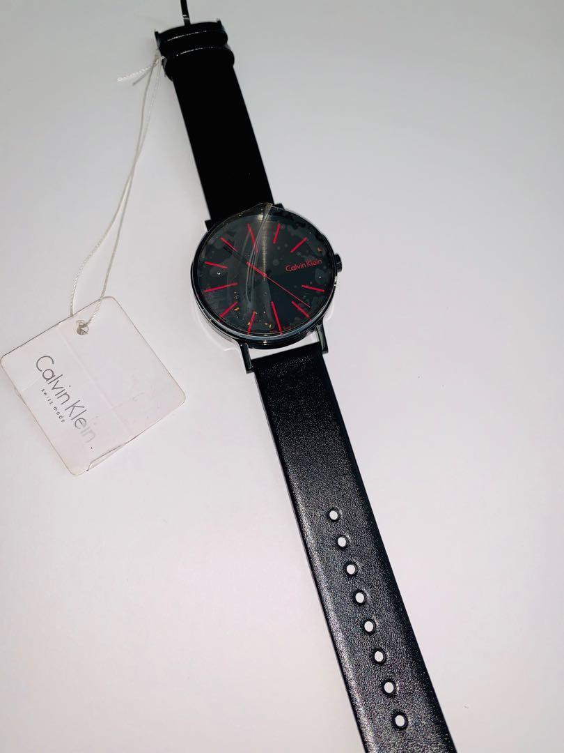 Brand new Calvin Klein boost black dial men's watch