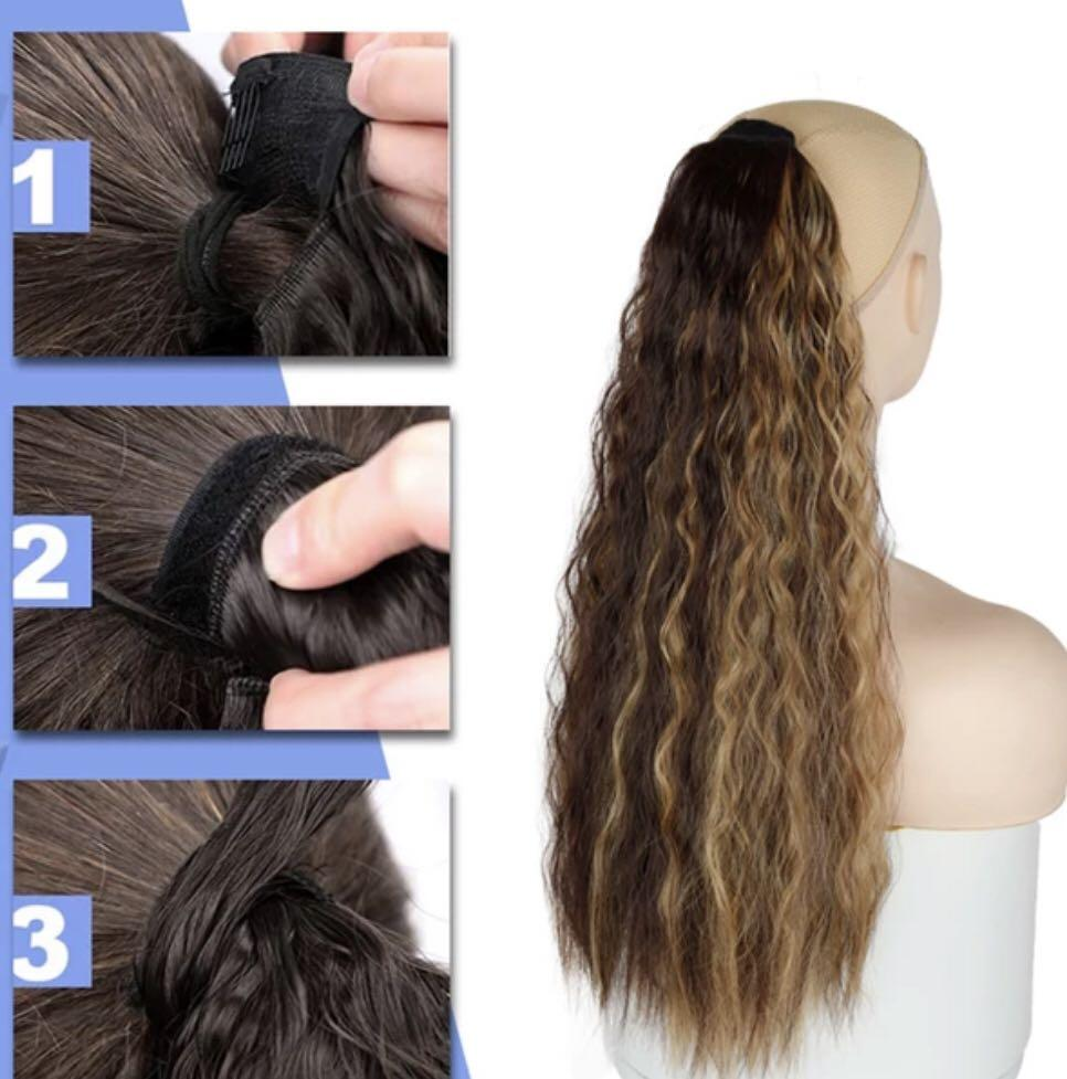 Brand new curly ponytail extension