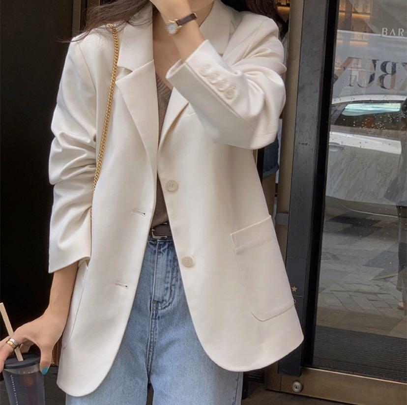 Brand new oversized blazer