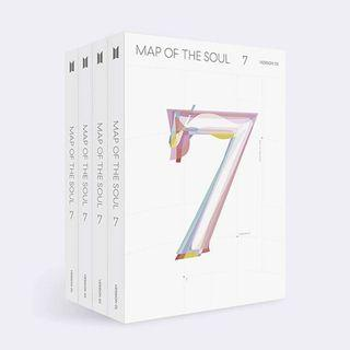 BTS map of the soul albums