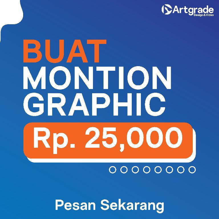 BUAT MONTION GRAPHIC VIDEO
