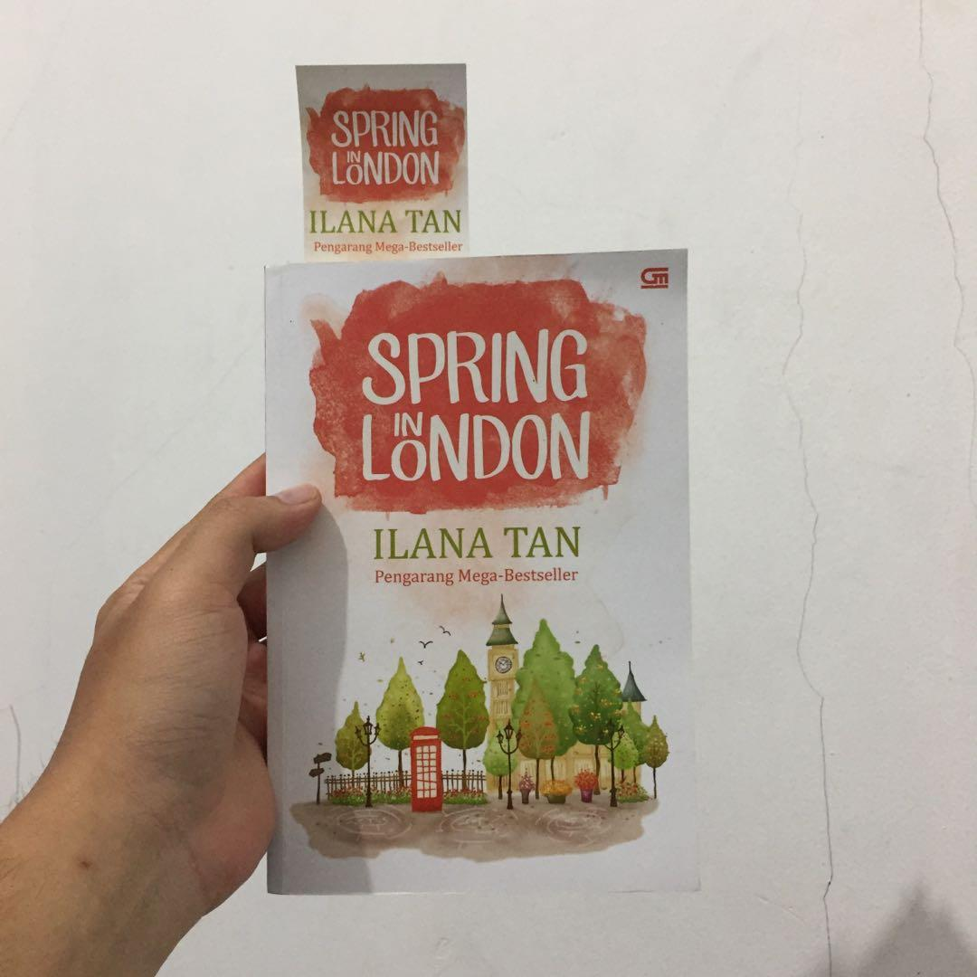 Buku novel Spring in london