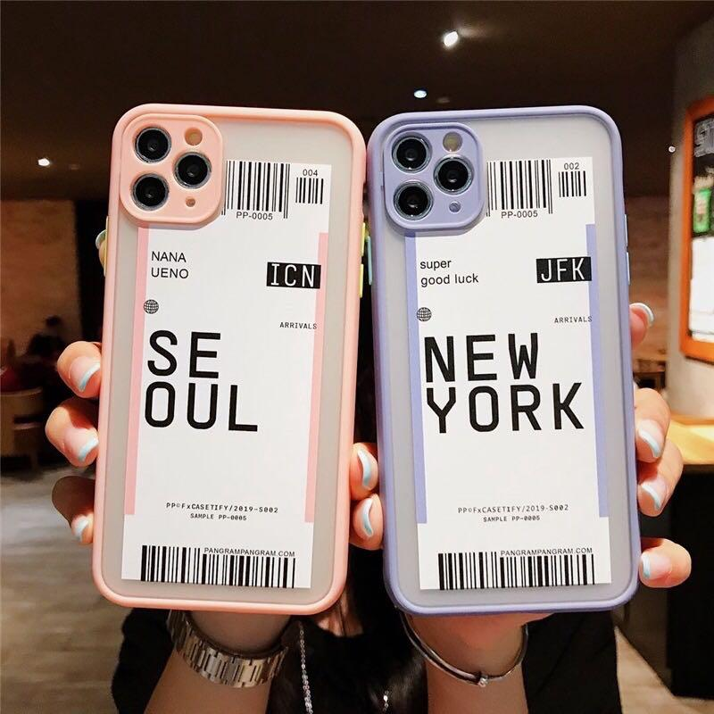 Case Iphone All types 6 sampai 11 pro max casing airport