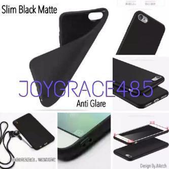 Case Xiaomi Redmi Note 8 Pro SLIM BLACK MATTE CASE SOFTCASE