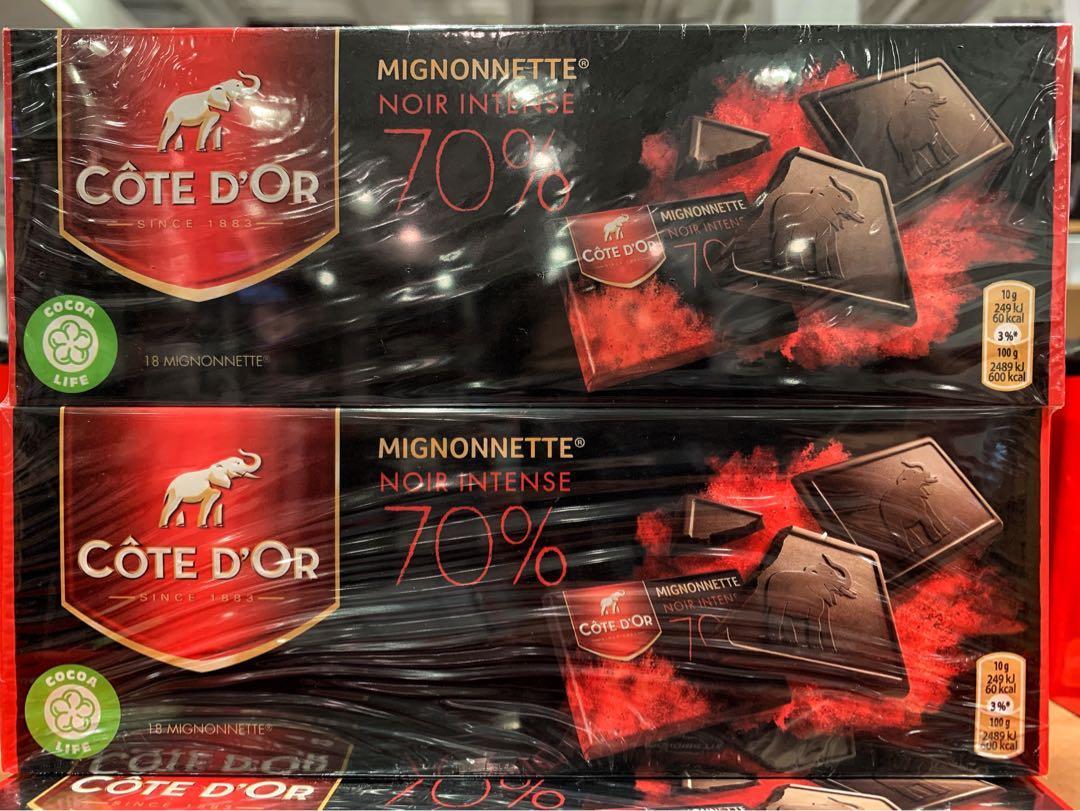 CôTE D'OR 70%比利時黑巧克力 180gx2入(請私訊有貨再下單)