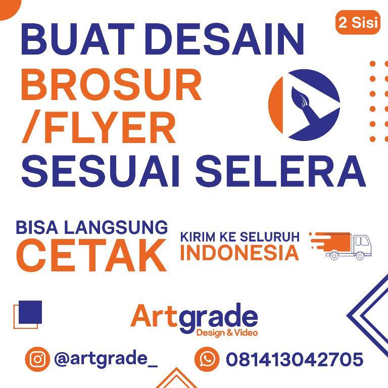 DESAIN BROSUR / FLYER 2 SISI