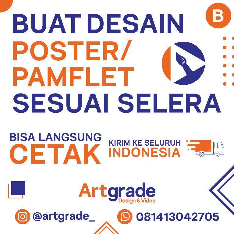DESAIN POSTER / PAMFLET PAKET B