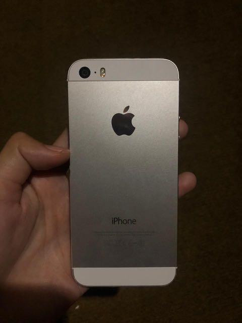 Dijual cepat iPhone 5s Silver 16gb
