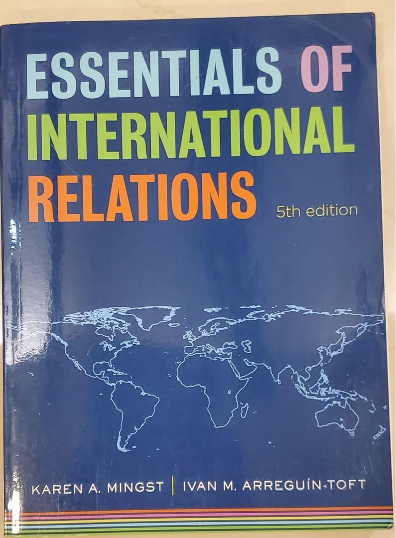 essentials of international relations國際關係/第五版