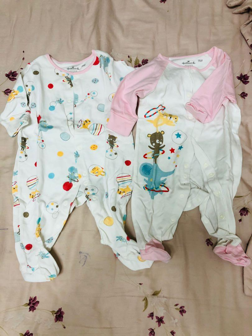 Hallmark 嬰兒連體衣 59 (0-3 months)