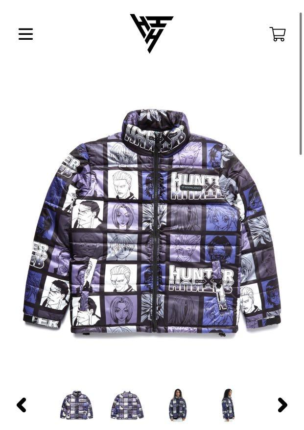 HXH PHANTOM TROUPE PUFFER JACKET