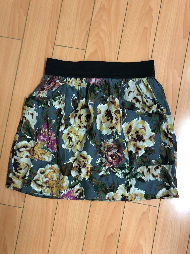 Ines Silk Skirt, size XS, Aritzia