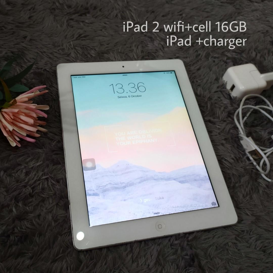 iPad 2 wifi cell 16GB