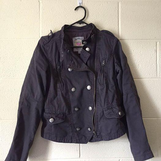Jeanswest military jacket size S (written on tag size 7) $15