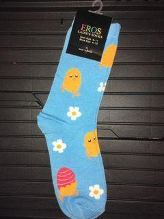 Ladies Easter Socks - 3 Pars in lot