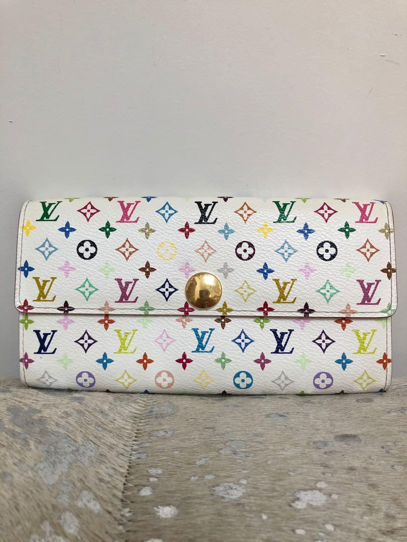 Louis Vuitton Sarah Wallet Multicolour