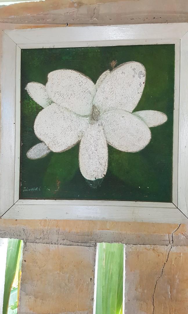 Lukisan tanganTeman Uk 50 x 50