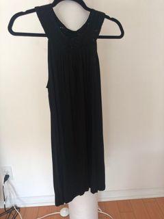 Maiko, Aritzia Black babydoll Dress, Small