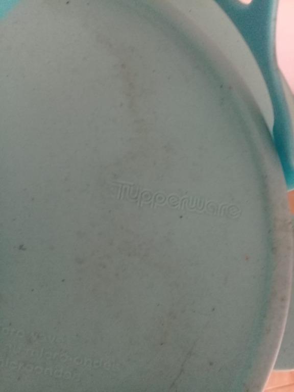 rantang 3 susun warna biru , merk tupperware