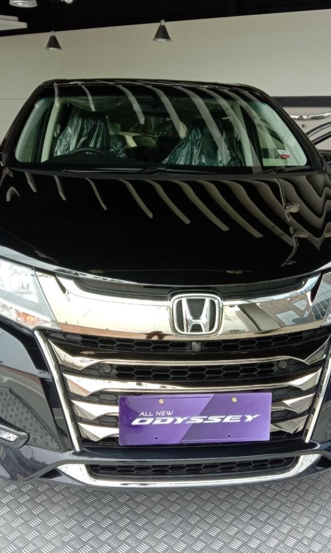 Ready Honda Odyssey warna hitam