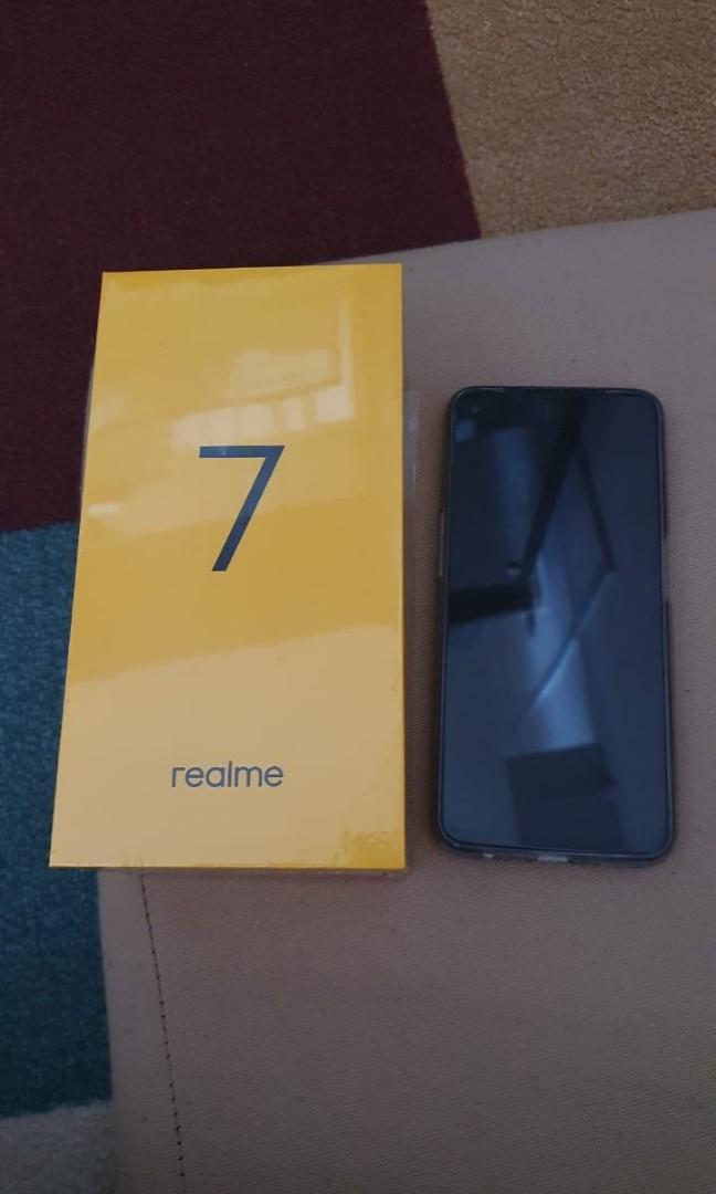 Realme 7 8/128 Putih Resmi Super Mulus Pembelian 5 Okt 2020