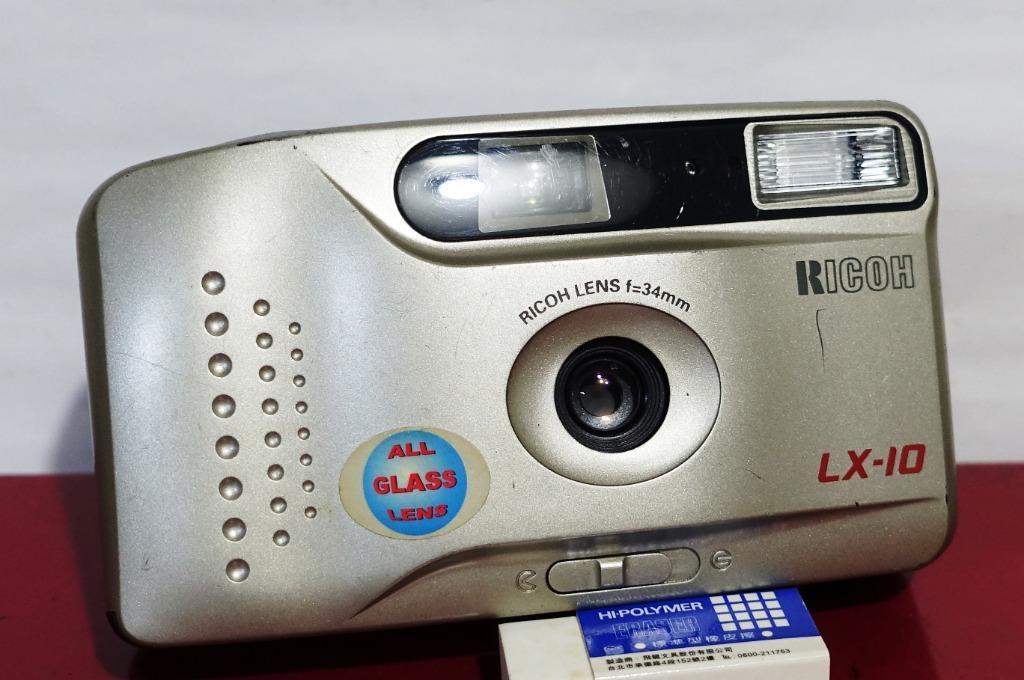RICOH LX-10 date 定焦底片相機