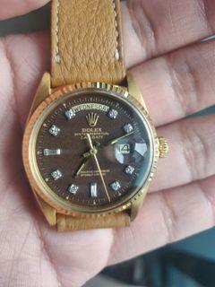 Rolex 1803 Daydate Confetti Diamond dial