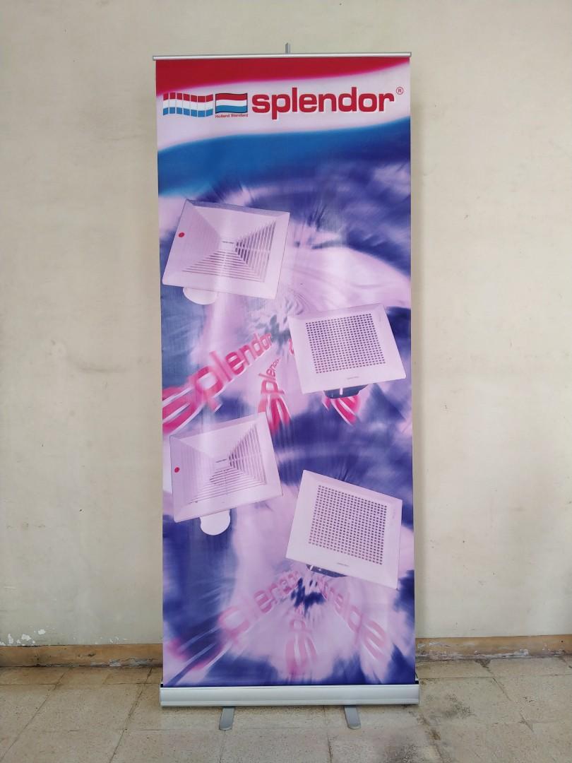 Roll Up Banner Ukuran 80 X 200