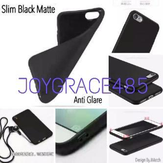 Samsung Galaxy M30 SLIM BLACKMATTE SOFTCASE