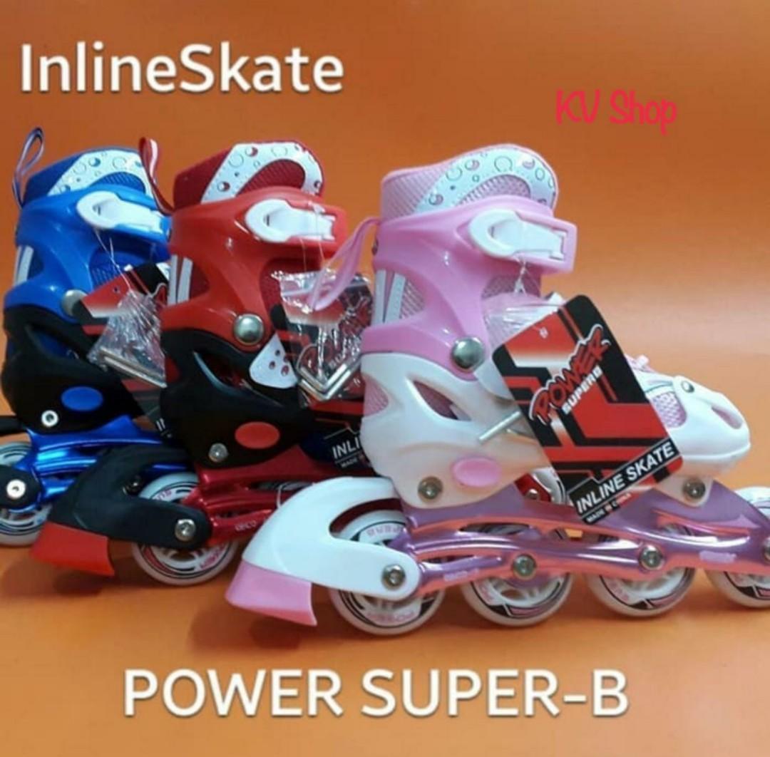 Sepatu Roda Anak Inline Power SuperB Bajaj - BLUE