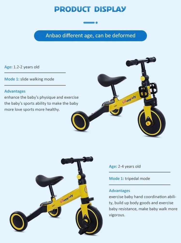 Sepeda anak 3 in 1