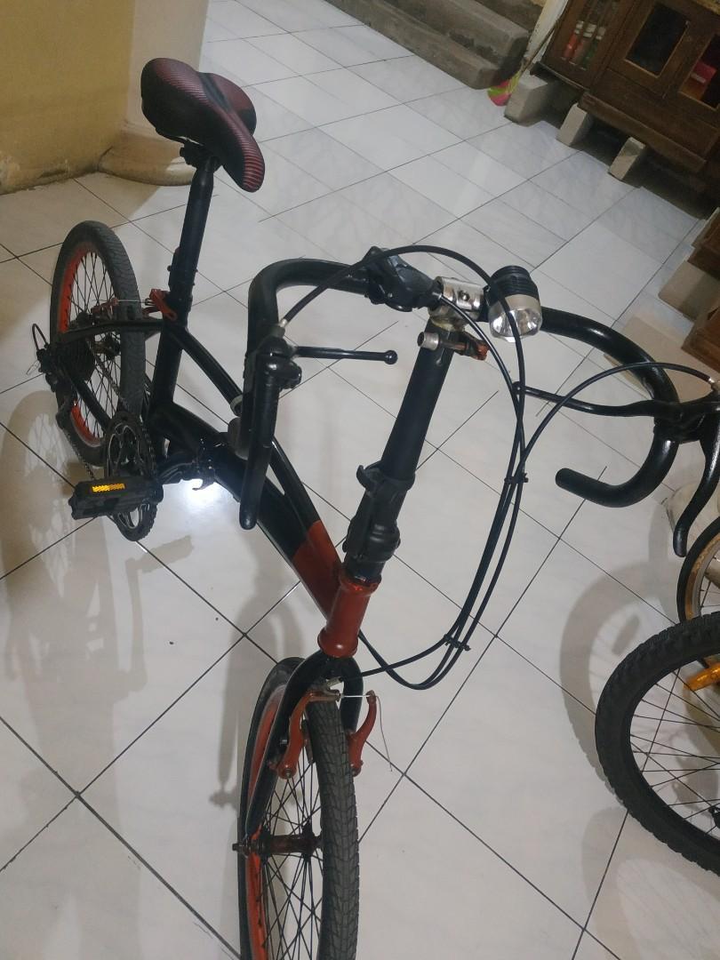 Sepeda lipat rasa roadbike