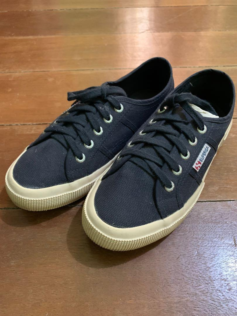 Navy Blue Superga • size 38 (almost new