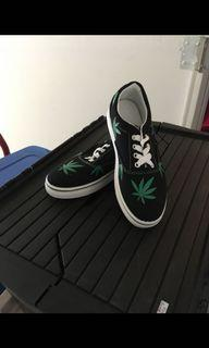 Snackers with weed plants on them