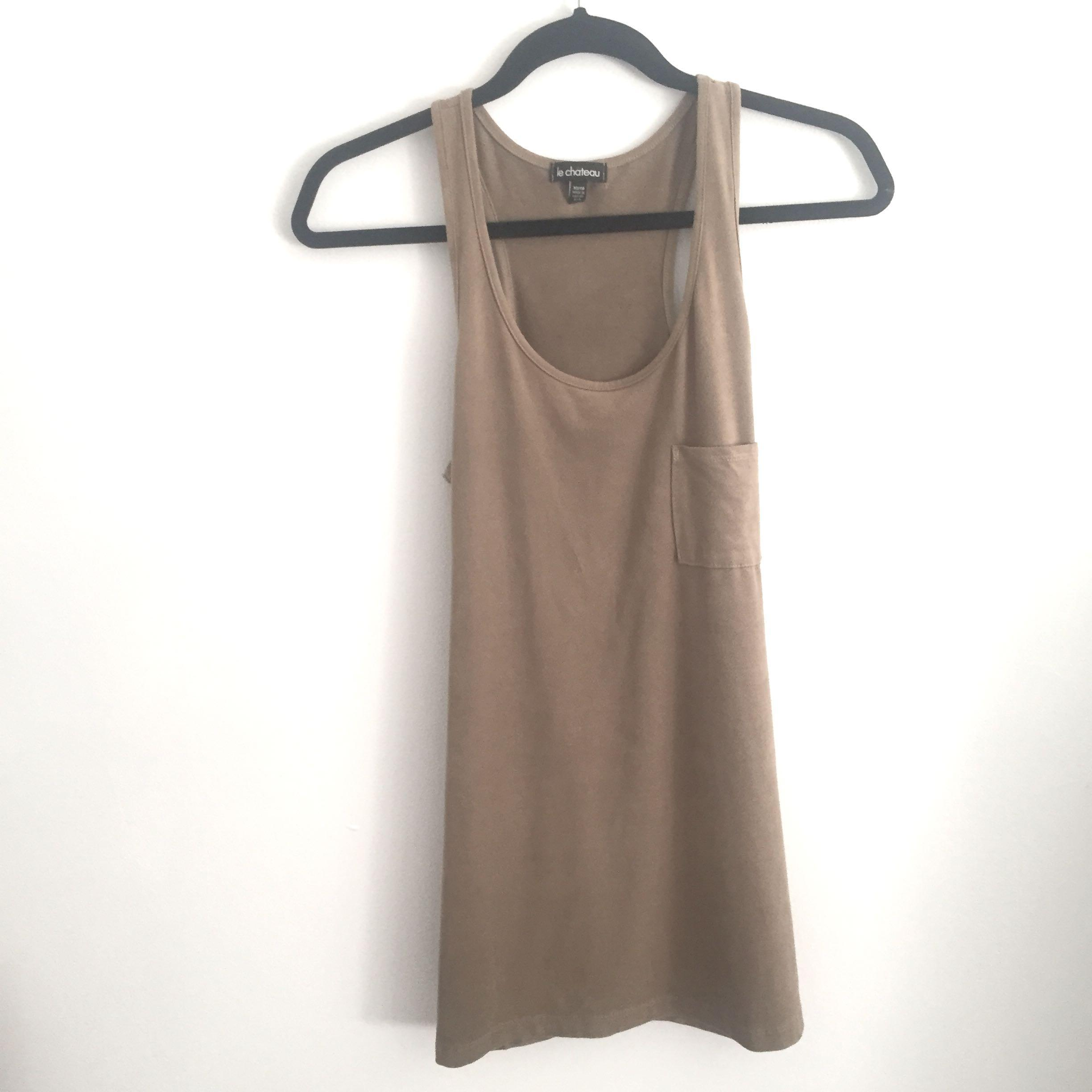 Suede Tank / Cami (XS)
