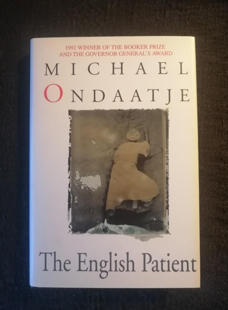 The English Patient - hardcover book
