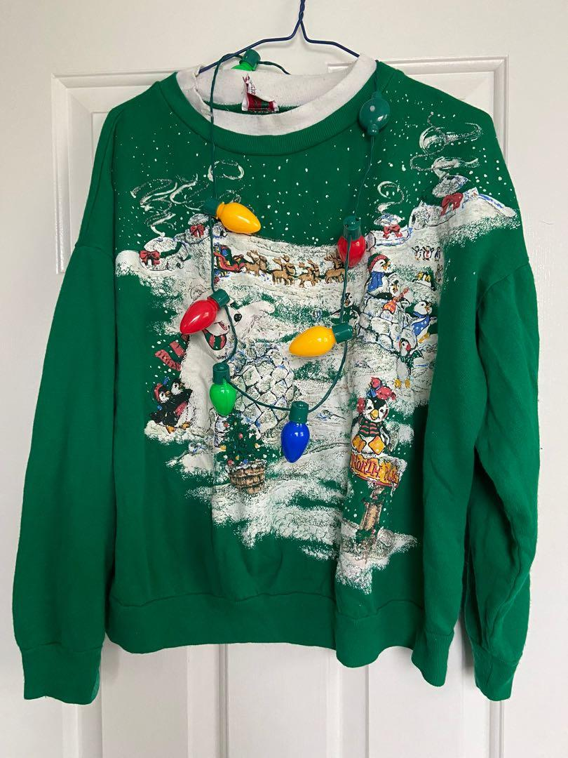 Urban Outfitters Winter Sweater ☃️+ Stranger Things Xmas🎄 Accessory