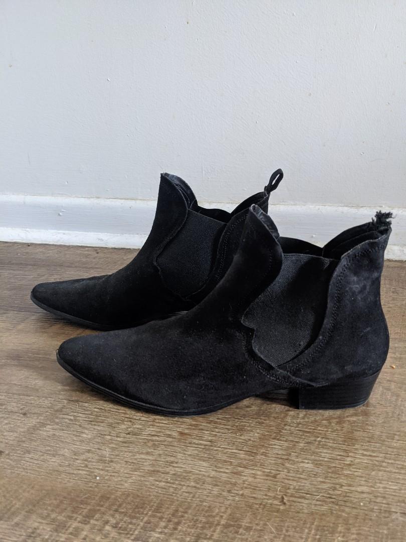 Zara Flat Ankle Boot