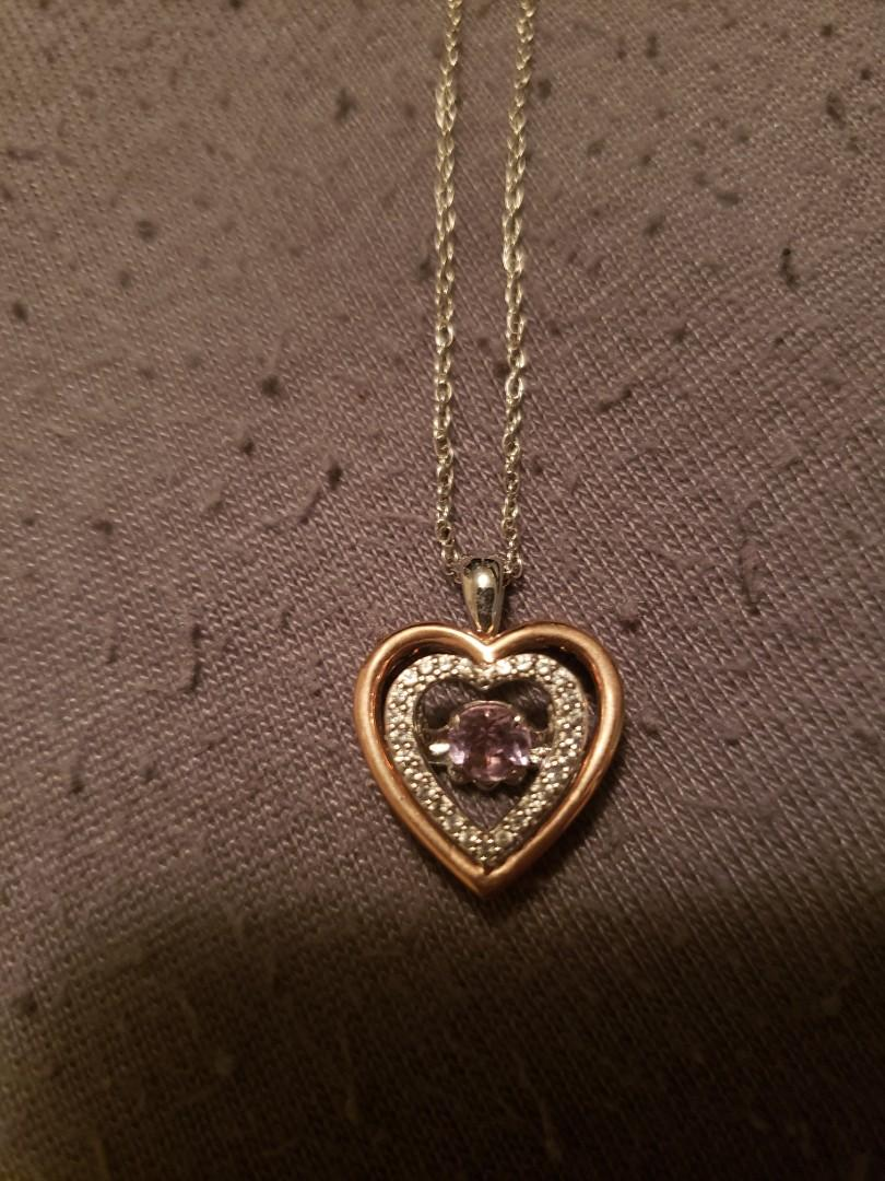 14 k GP & sterling silver necklace