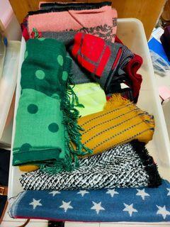 圍巾每條25元/需買10條以上才出貨