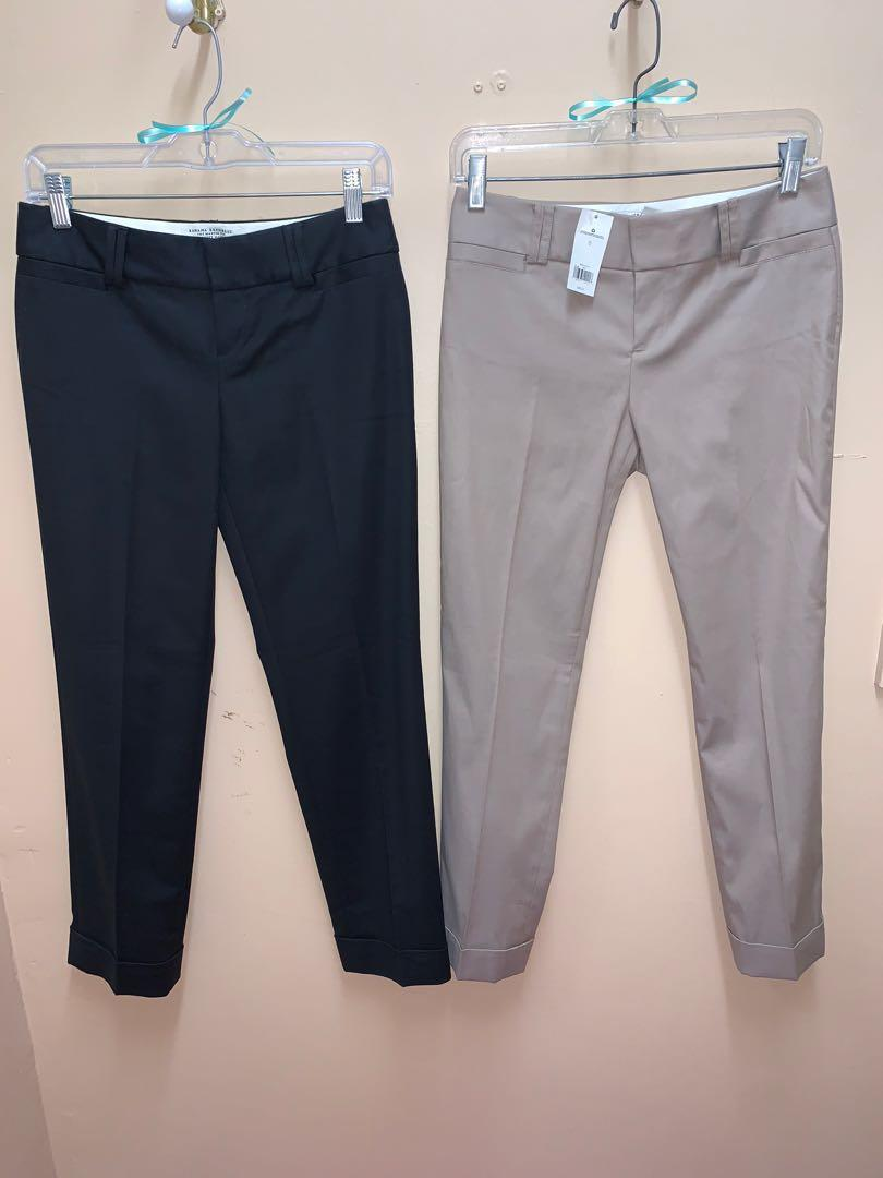 2 Banana Republic The Martin Fit Pants Lot