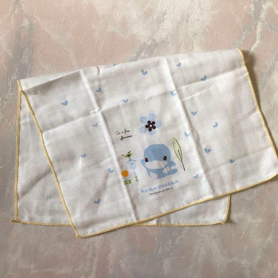 全新1條紗布巾洗澡巾口水巾手帕