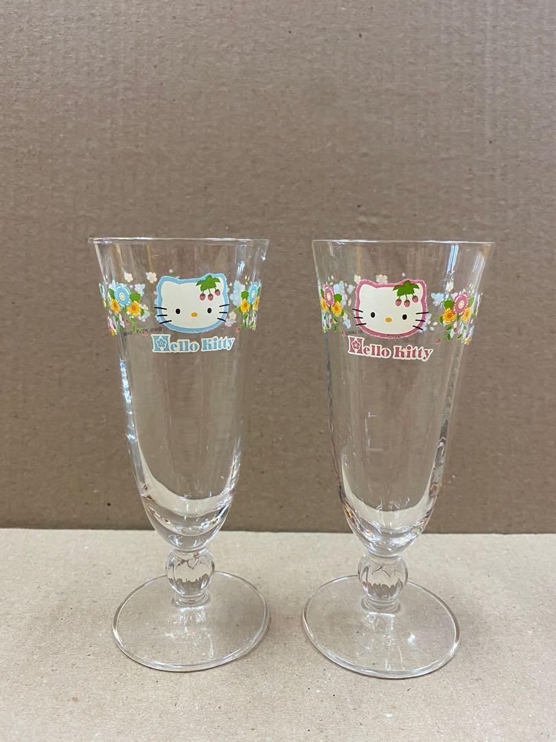 (現貨)全新 Hello Kitty 玻璃杯