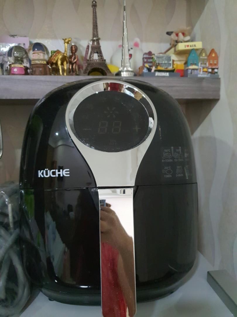 Air Fryer Kuche K 900 Original + Box Lengkap