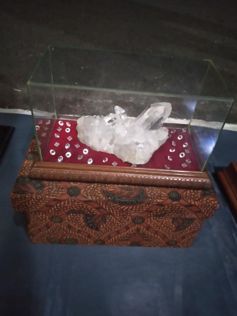 Batu Alam  Kristal Koleksi Jadul
